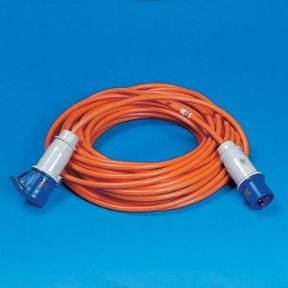 25 METRE MAINS LEAD Orange